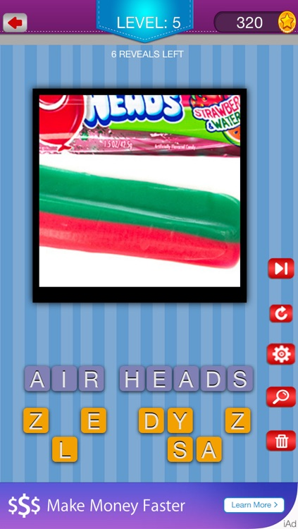 Guess the Snacks - Trivia Puzzle Quiz for Popular Famous Junk Foods and Candy screenshot-3