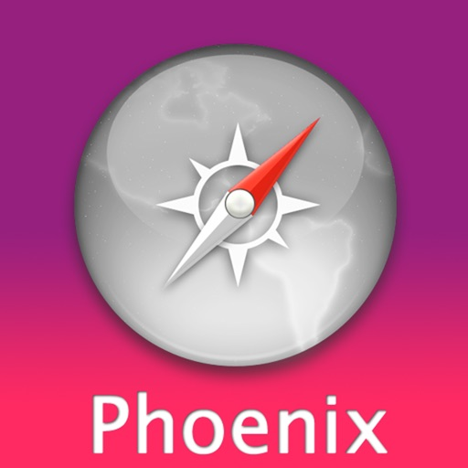 Phoenix Travel Map (USA)
