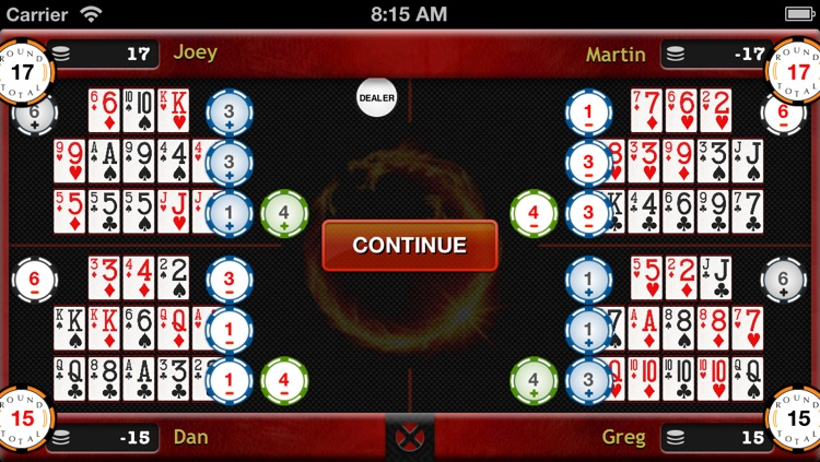 Chinese Open Face Poker screenshot-3