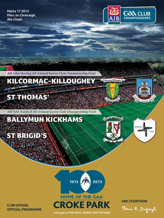 GAA Official Matchday Programmes screenshot-0