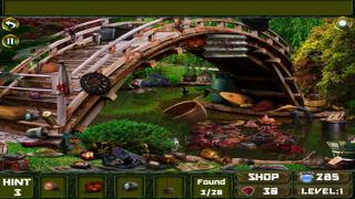 Hidden Objects in Garden screenshot one