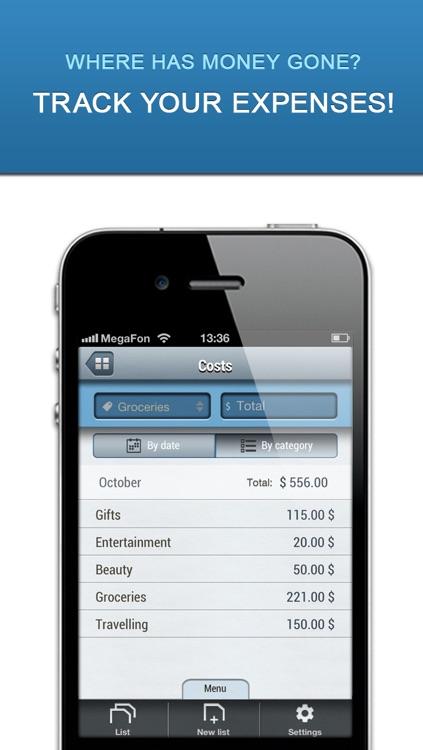 Listick Lite: Grocery Shopping List screenshot-3