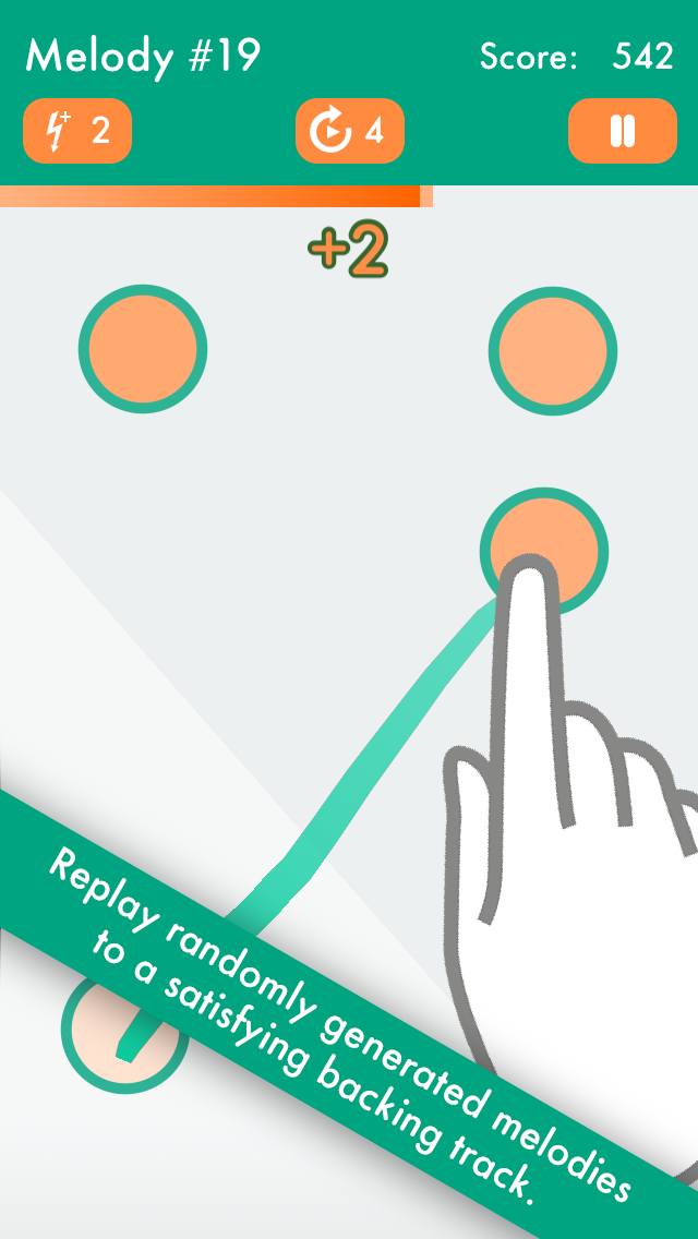 ZenTone - A relaxing music game for meditation, rhythm, noise