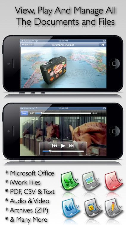File Manager Pro - With Wireless Sharing & Passcode Protection