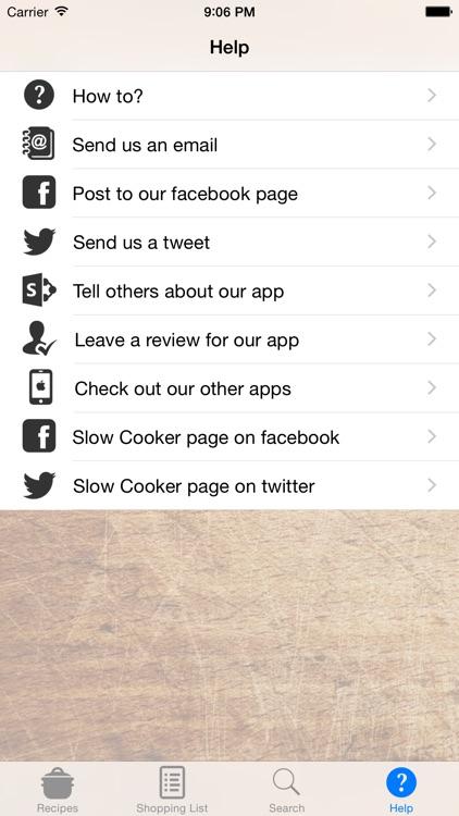 Slow Cooker Crock Pot Recipes screenshot-3