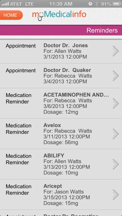 My Medical Info screenshot-3