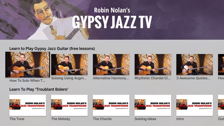 Gypsy Jazz TV