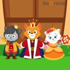 Four Princes and A Princess - An English Story for Kids icon