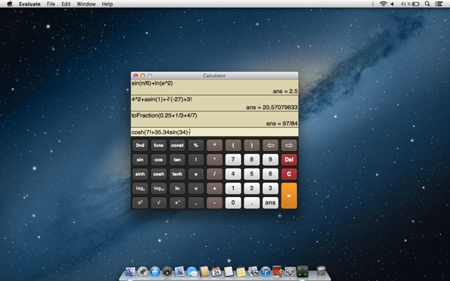 Mac App Store 上的 Evaluate Scientific Calculator