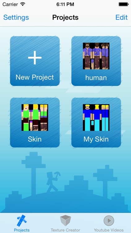 Skin Creator Pro Editor for Survivalcraft Textures Game Skins