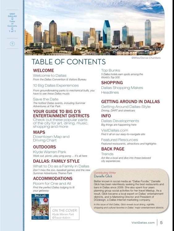 Visit Dallas: The Official Destination Magazine screenshot-1