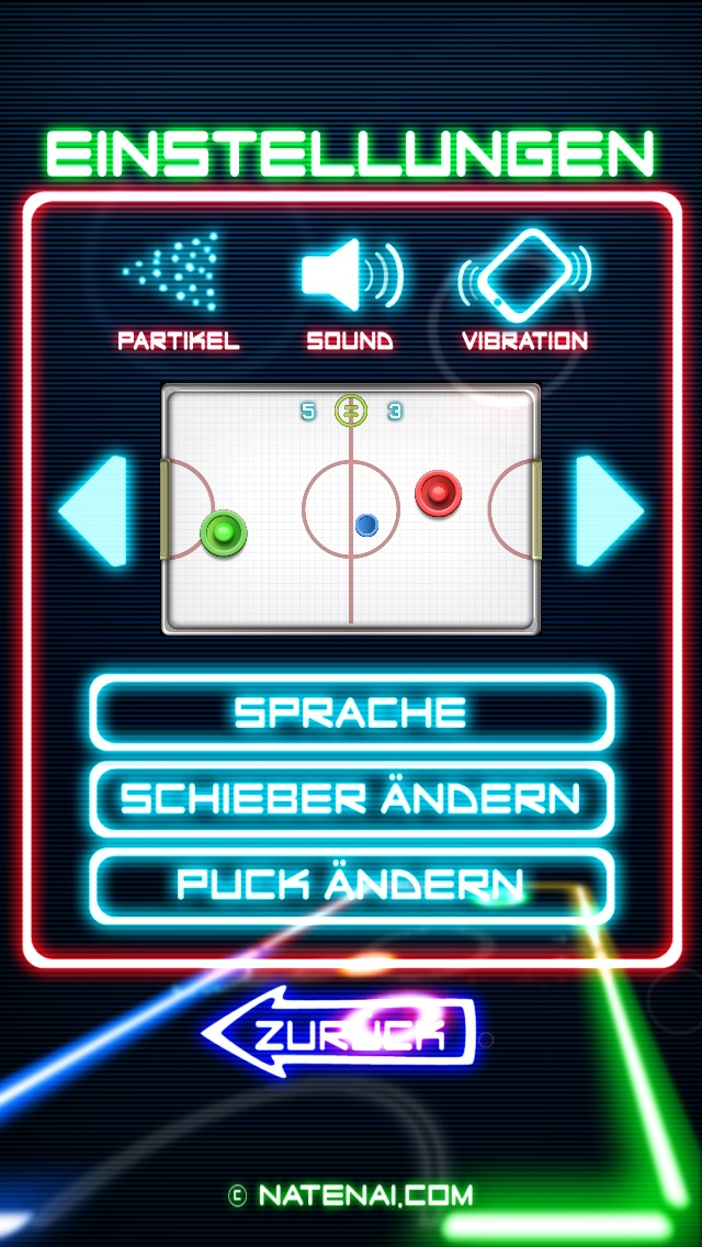 Glow Hockey 2Screenshot von 5
