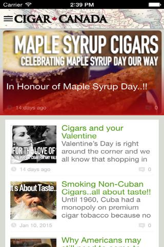 Cigar Canada - náhled