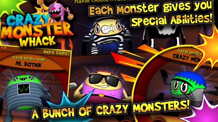 Crazy Monster Whack screenshot-3