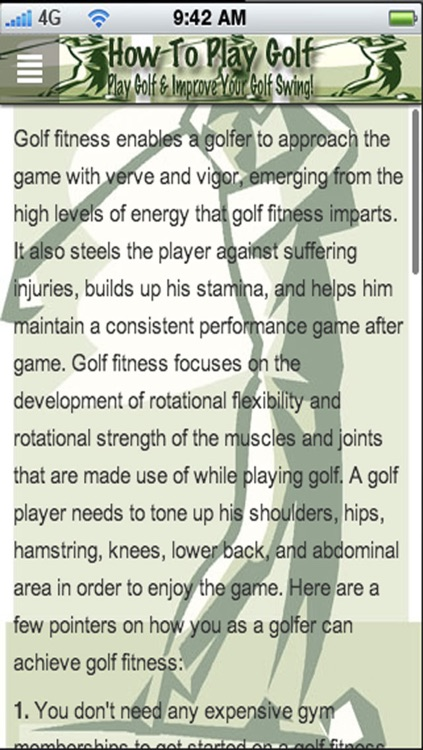 How to Play Golf: Play Golf & Improve Your Golf Swing screenshot-4