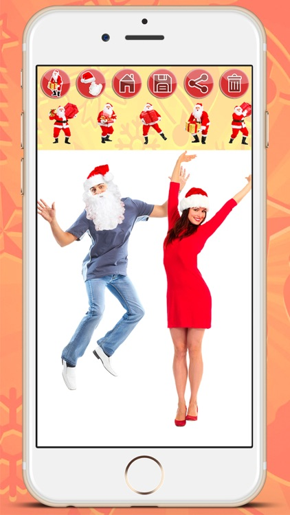 Selfie with Santa Claus screenshot-3