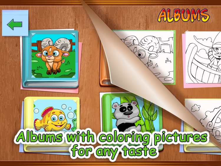 Brush and Smudge - coloring book screenshot-3