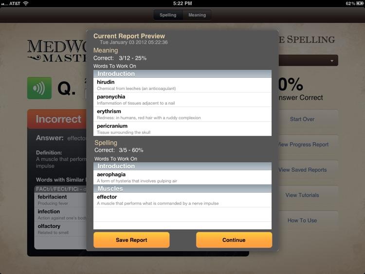 MedWord Master Free screenshot-3