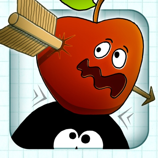 アップル射撃 - 無料ゲーム - 弓と矢 (Stickman Apple Shooting Showdown - Free Bow and Arrow Fun Doodle Skill Game)