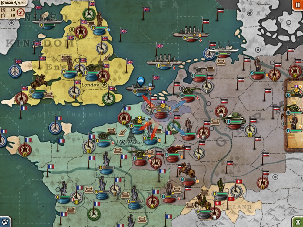 European War 3 Free for iPad