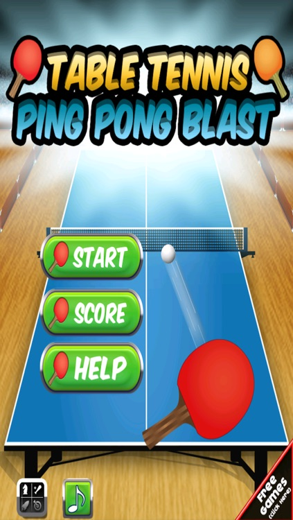 Table Tennis Ping Pong Blast FREE