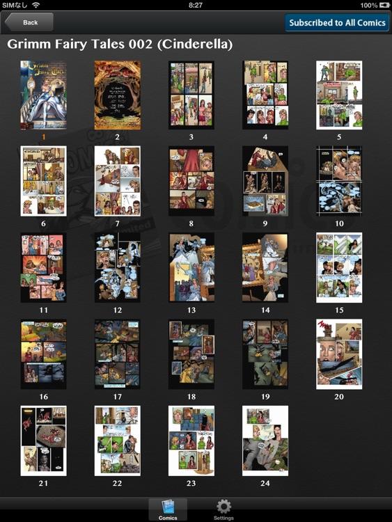 Comics Unlimited : Comic and Cartoon Book Reader screenshot-3
