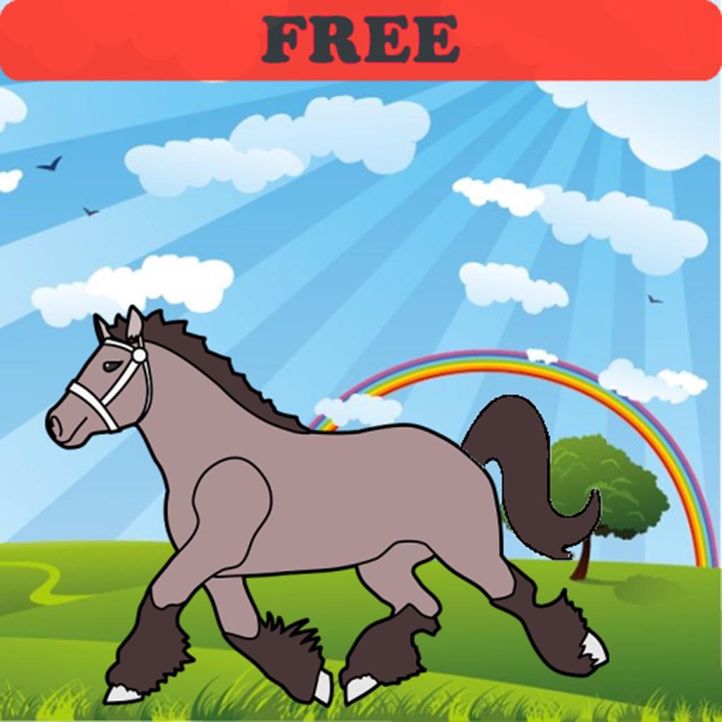 'Kleurplaten van paarden en pony! GRATIS - Kleurplaat voor ...