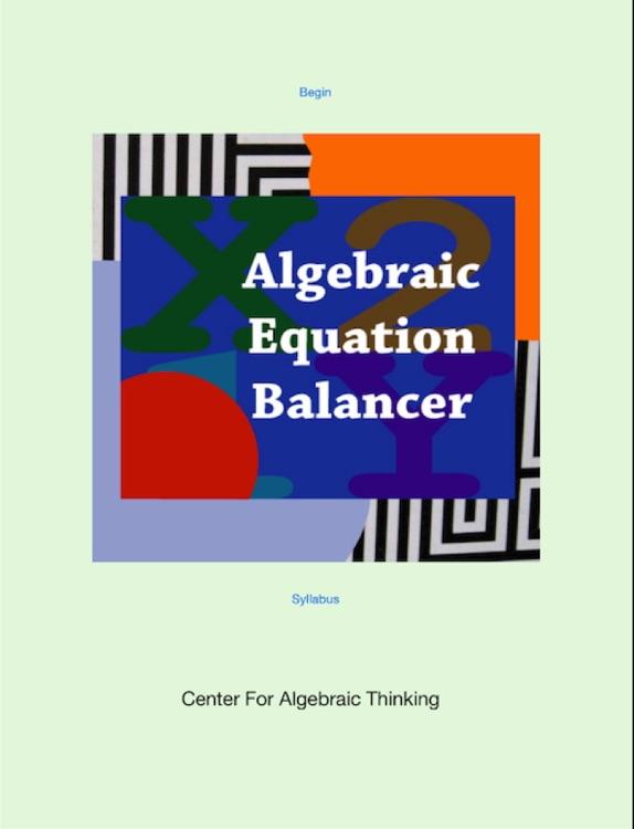 Algebra Equation Balancer