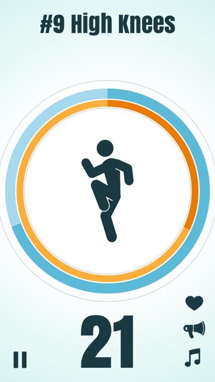 7-Minute Workout (High Intensity Circuit Training) screenshot-3