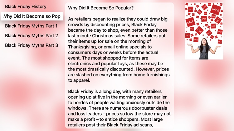 Black Friday Myths For Apple Tv By Education Terra