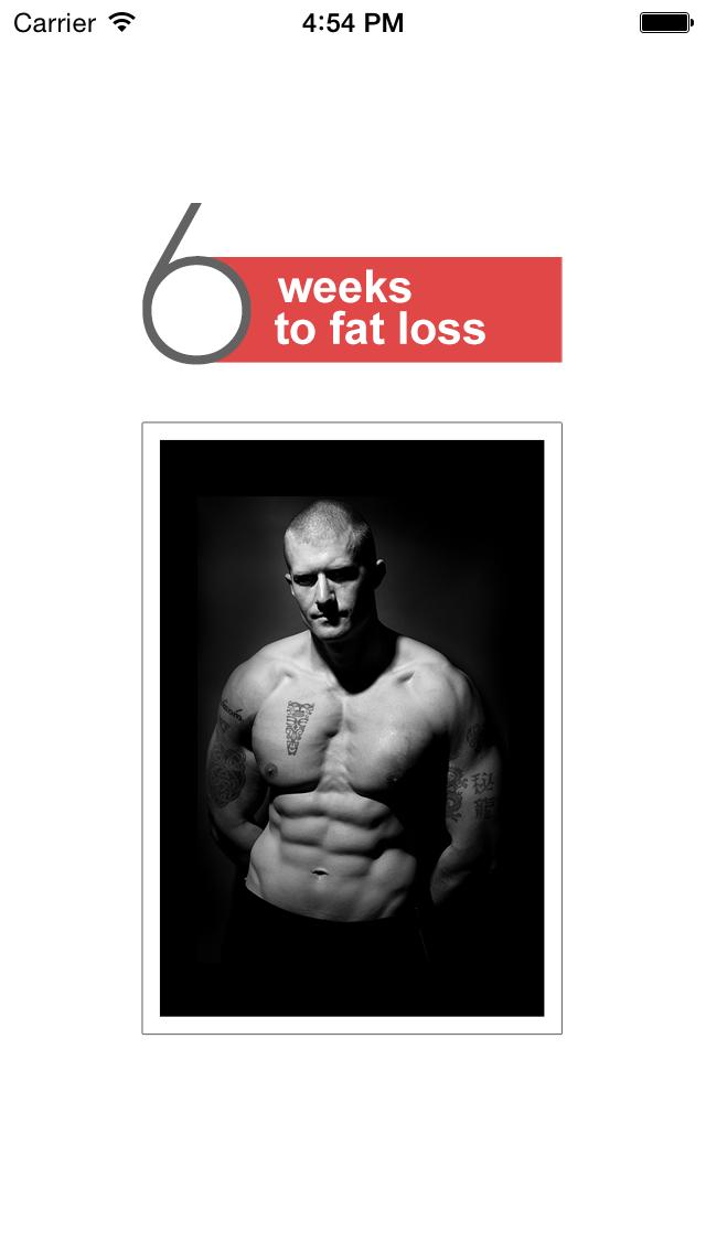 Diet App 6 Weeks to Fat Loss