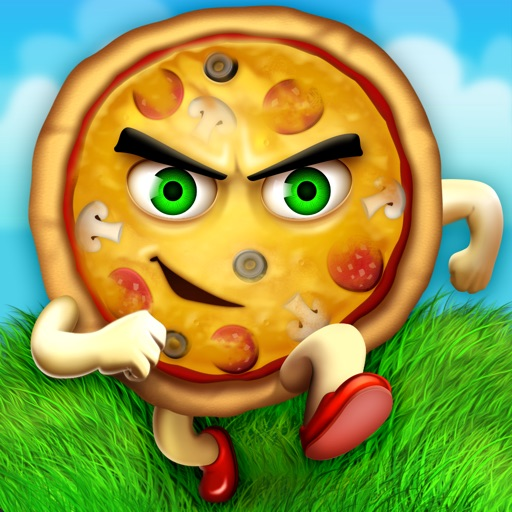Spaghetti Mountain Race 2 - Crazy Fun Flying Food Race Game