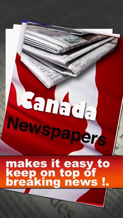 Canada Newspapers: Toronto Star, Globe and the Mail, Vancouver Sun, Toronto Sun, La Presse, Journal Montreal, etc.