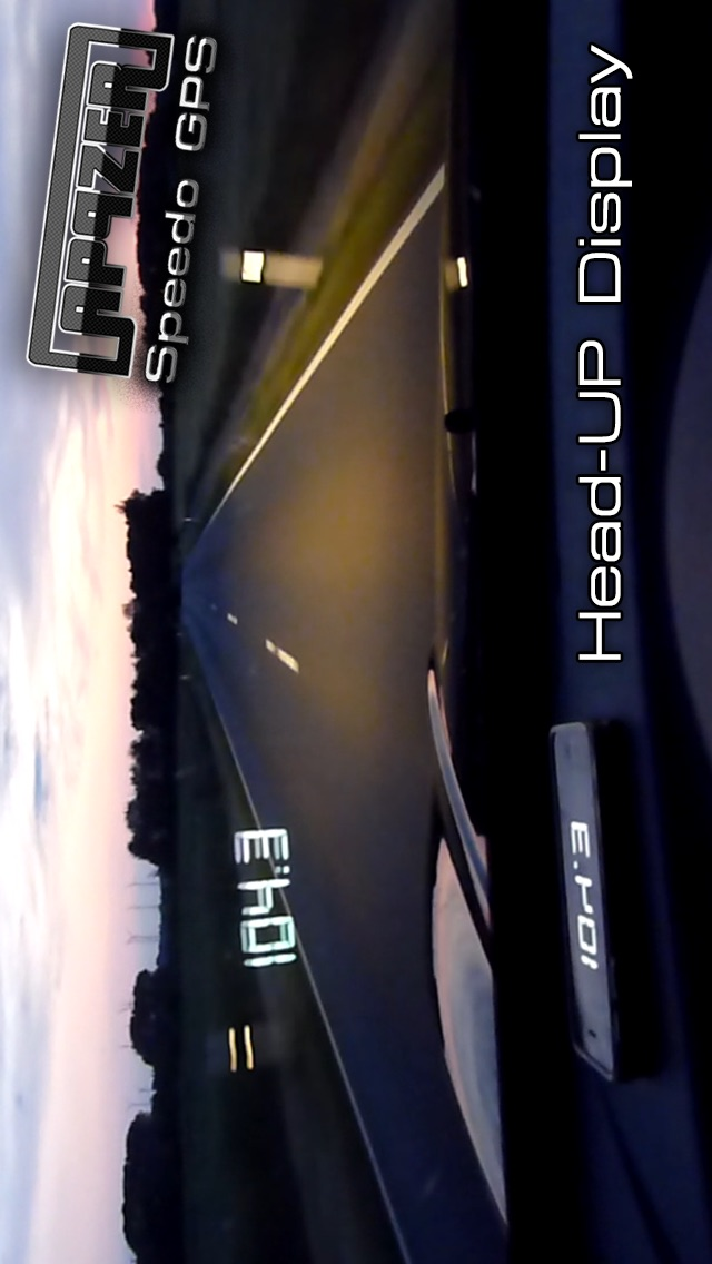 Screenshot for Speedo GPS Speed Tracker, Car Speedometer, Cycle Computer, Trip Computer, Route Tracking, HUD in New Zealand App Store