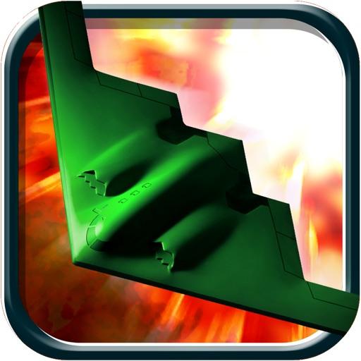 Fighter jet dangerous landing - flying parking mission