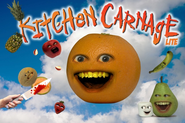 annoying orange kitchen carnage free on the app store