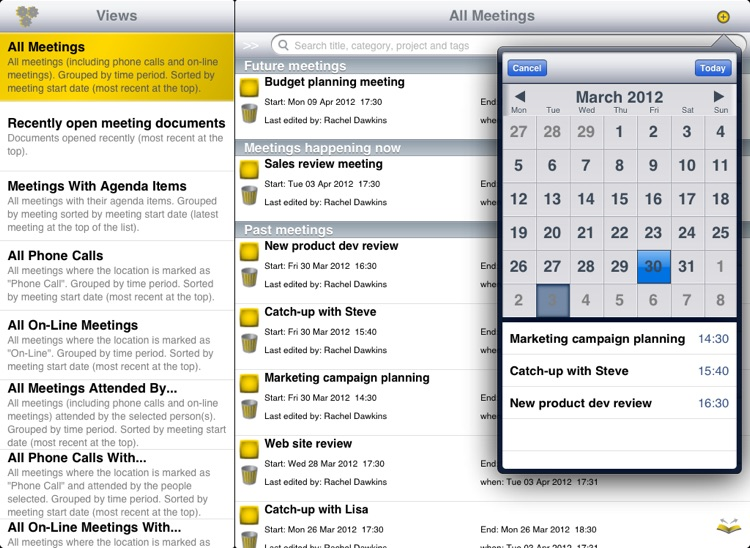 Meeting Gold - Ultimate meeting note taking and action tracking.