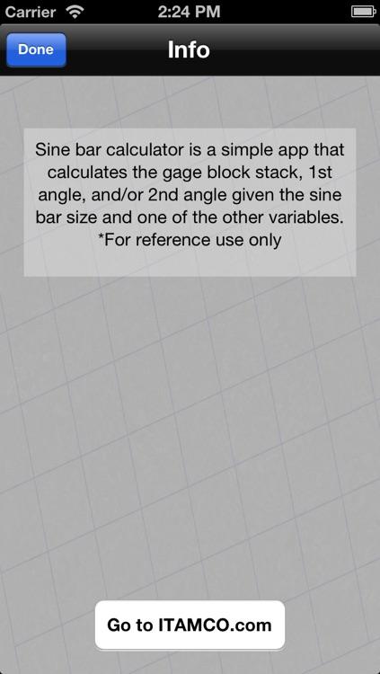 Sine Bar Calculator