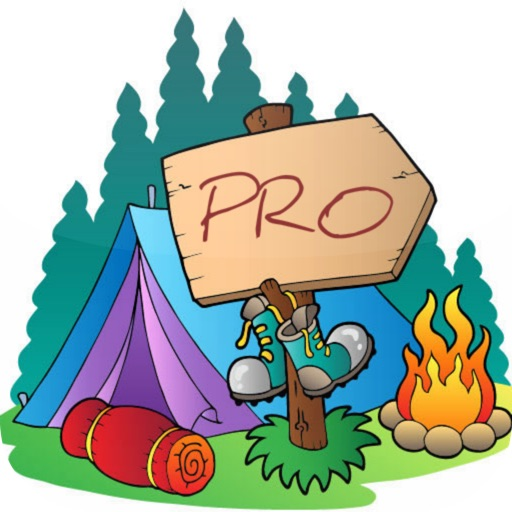 National and State Park Camping Guide -PRO