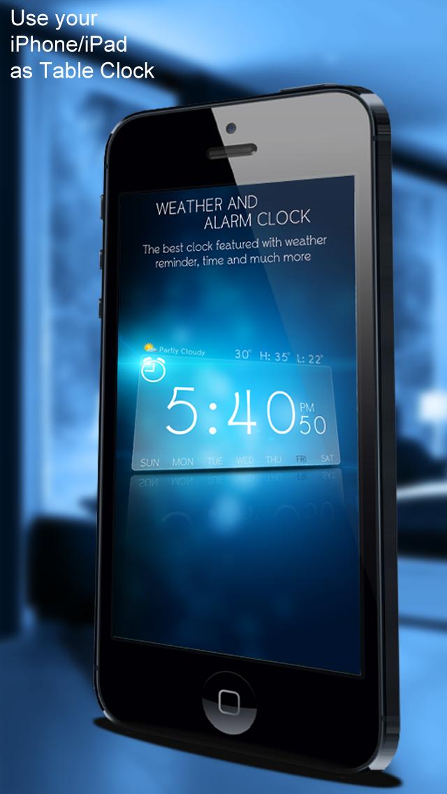 Weather And Alarm Clock