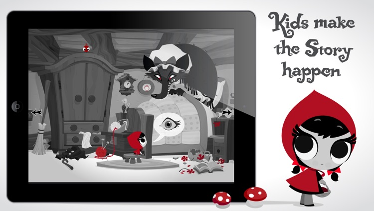Lil' Red - An Interactive Story screenshot-3