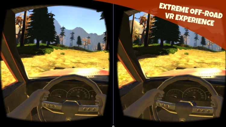 Off-Road Virtual Reality Game : VR Game For Google Cardboard screenshot-3