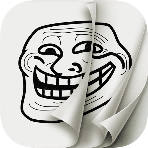 AniMeme - Animated Rage Faces Stickers for iOS7 iMessages icon