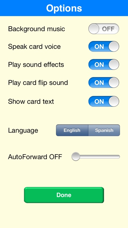Voice Toddler Cards - the talking flashcards screenshot-4