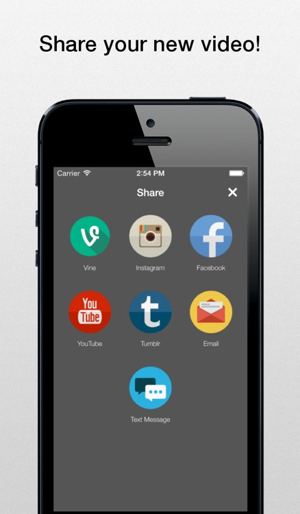 Zeme - Video Editor: Add Music to Vines and Instagram Videos screenshot-3