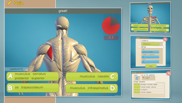Easy Anatomy 3D screenshot-3