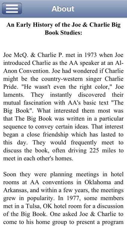 Joe & Charlie - (Alcoholics Anonymous) screenshot-3