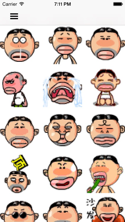 Hot emoji 3 for wechat - Animated Emojis stickers and icons