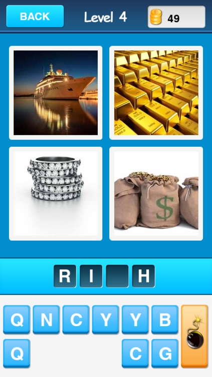 Guess Words - 4 Pics 1 Word