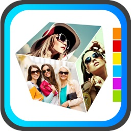 3D Collage - Free 3d & 2d magazine Collage Frame creator